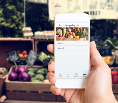 Weekly Shopping Lists in the Wild Challenge mobile app by Abel James