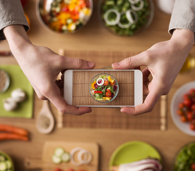 Photograph Your Meals in the Wild Challenge mobile app by Abel James